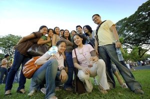 Students of UP Diliman