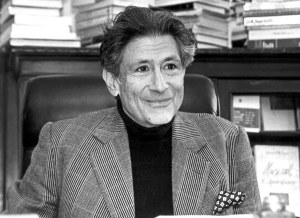 Edward Said, the man who showed the problematique of orientalism as regards the treatment of Western Scholars of the oriental word.