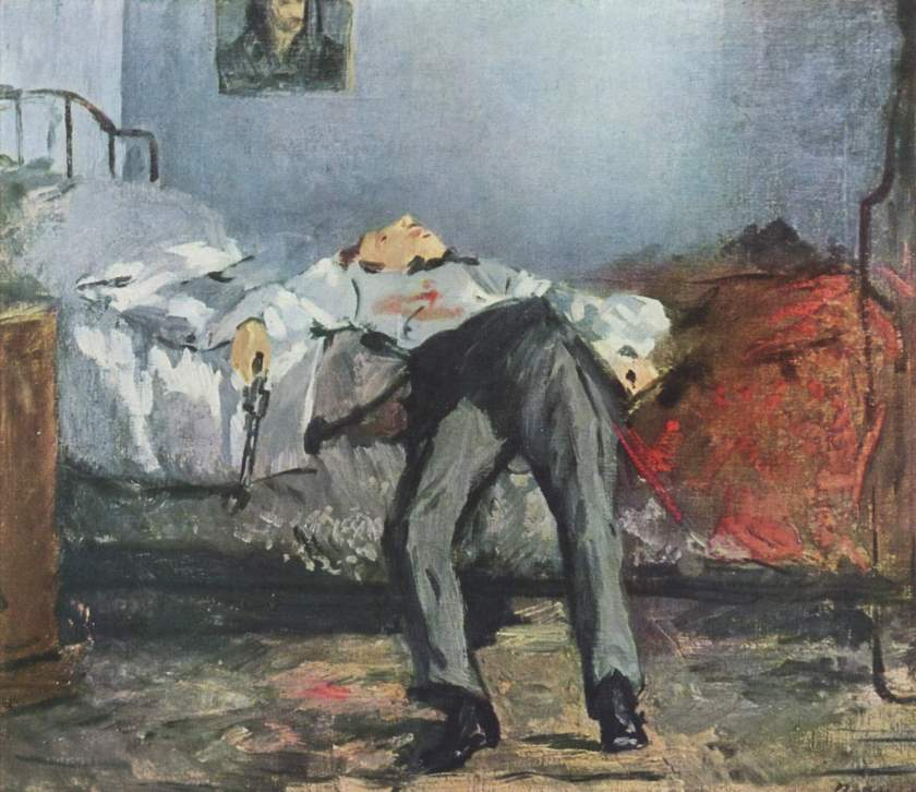Le Suicide by Edouard Manet