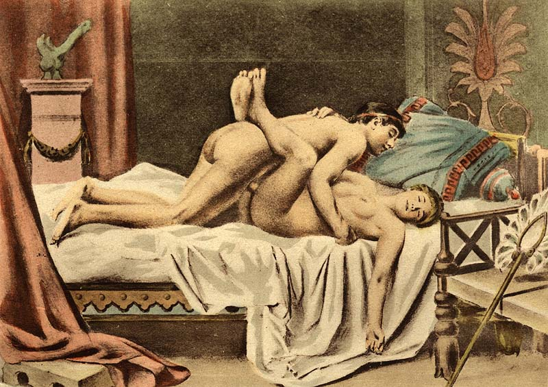 Depiction of the missionary position by Édouard-Henri Avril