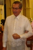 Randy David a an immenent Filipino sociologist