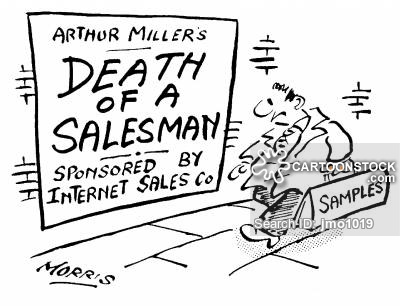 Arthur Miller's 'Death of a Salesman' Sponsored by Internet Sales Company